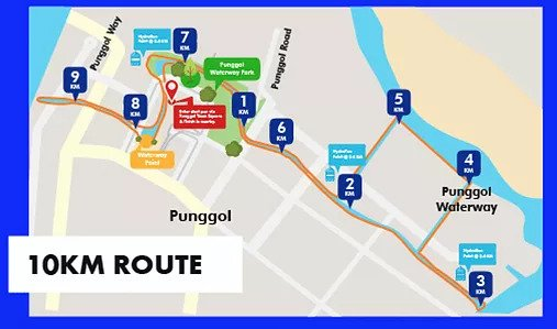 RFL20 10km Route