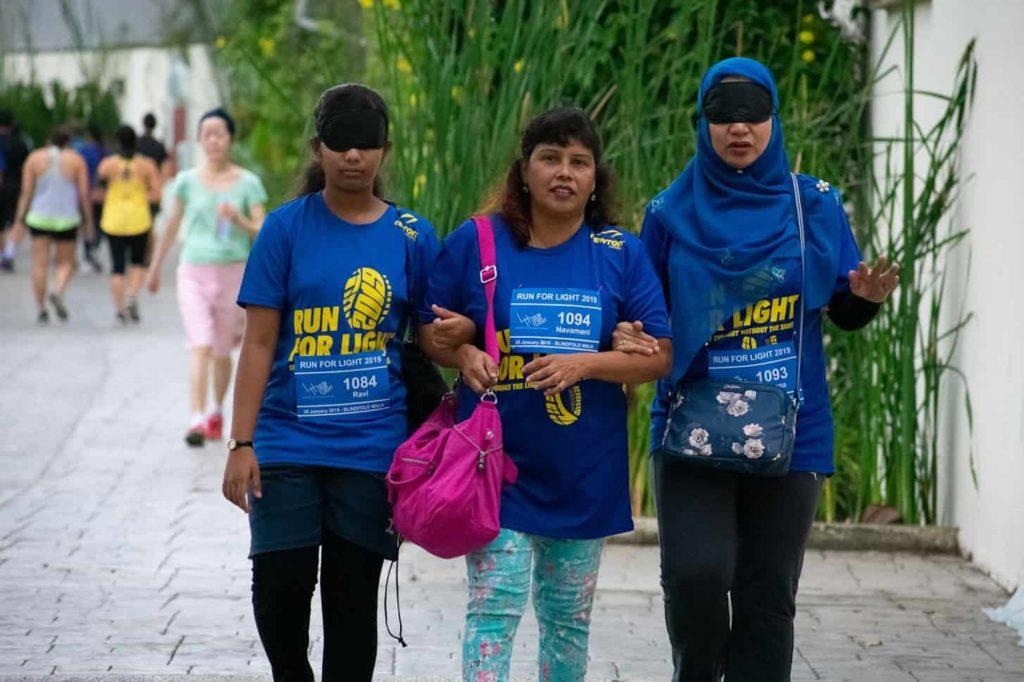 Run for Light - Blindfold