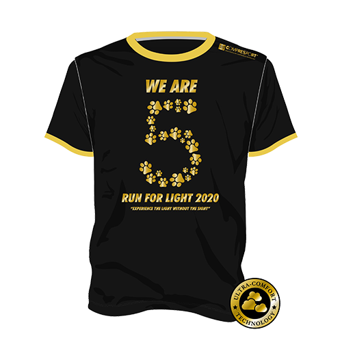 Run for Light 2020 - Edition Tee
