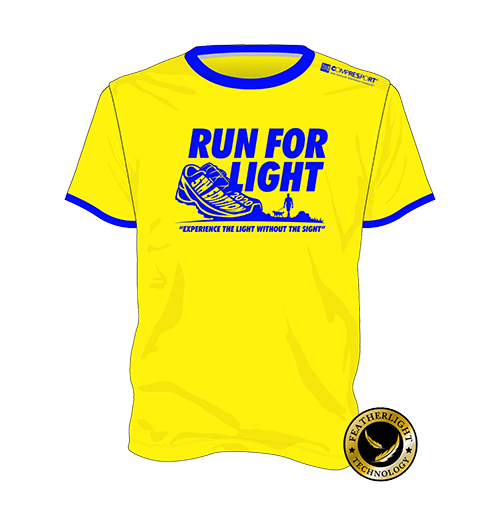 Run for Light 2020 - Event Tee