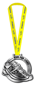 Run for Light 2020 - Finisher Medal